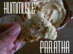 hummus-e-paratha